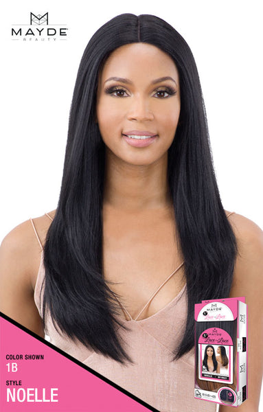 Mayde Beauty Lace & Lace 5 Inch Lace Part Synthetic Lace Front Wig - Noelle - Beauty Empire