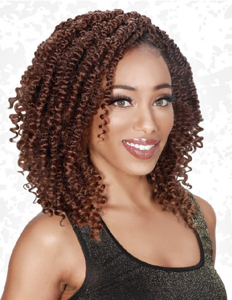 Zury Naturali Star V-9-10-11 Crochet Braid - Passion Twist