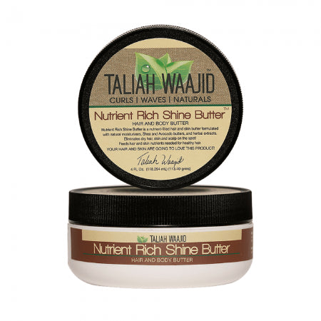 Taliah Waajid Nutrient Rich Shine Hair And Body Butter (4 oz) - Beauty Empire