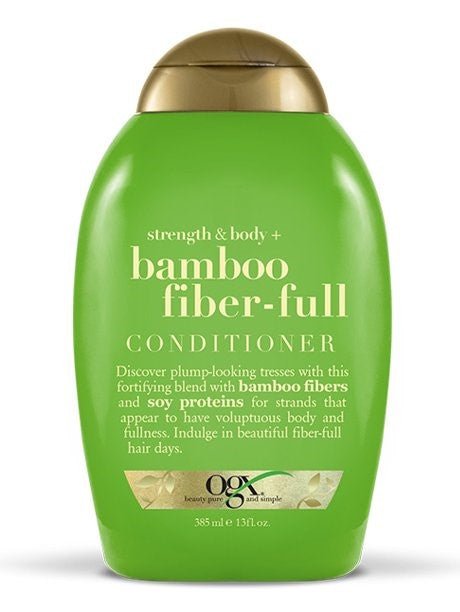 OGX Strength & Body + Bamboo Fiber-Full Conditioner - 14oz
