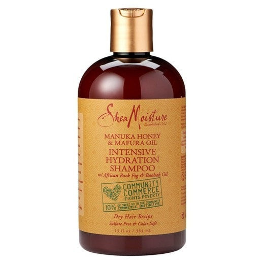 Shea Moisture Intensive Hydration Shampoo (13 oz) - Beauty Empire