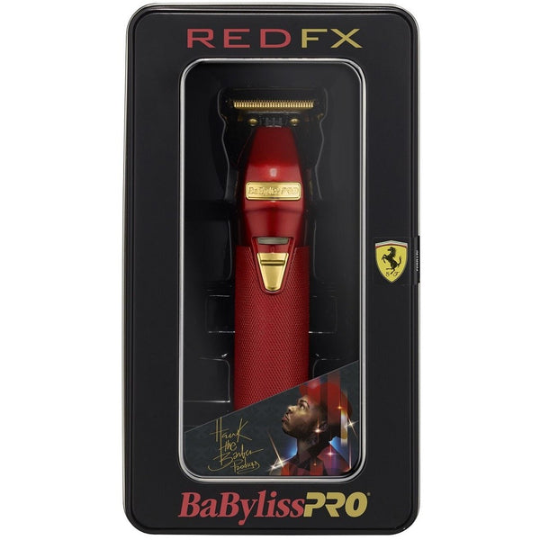 Babyliss Pro Red FX Skeleton Outliner Cordless Trimmer - FX787R
