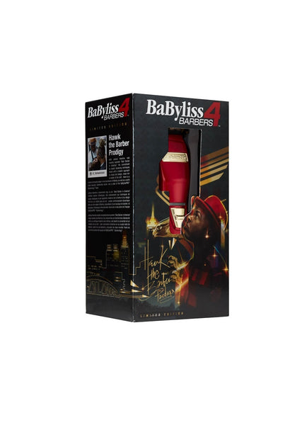 Babyliss Pro Red FX Cordless Clipper - Limited Editiion Hawk The Barber Prodigy - Beauty Empire