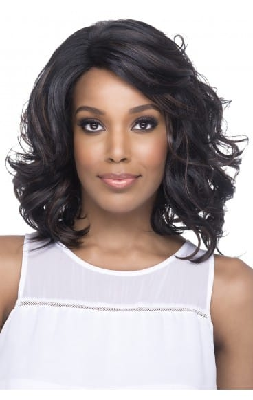"Vivica A. Fox Natural ""Baby Hair"" Swiss Lace Front Wig - Betsy"