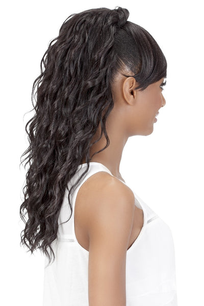 Vivica A. Fox Synthetic Bang N Ponytail - Kennedei - Beauty Empire