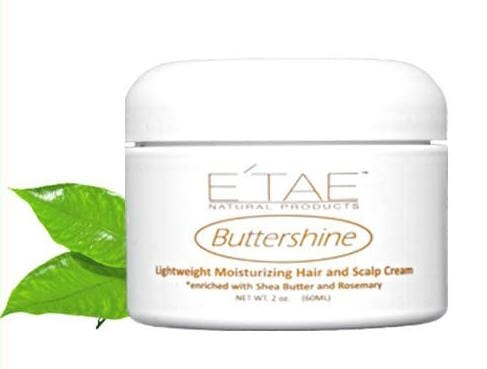 E'TAE Buttershine Lightweight Moisturizing Hair and Scalp Cream 2oz