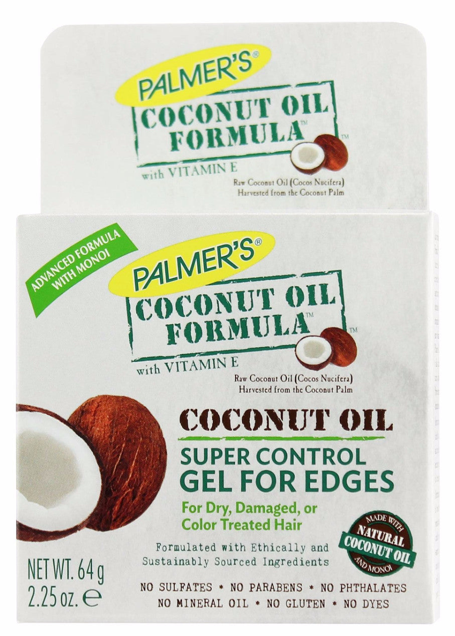 Palmers Coconut Oil Formula Super Control For Edges (2.25 oz) - Beauty Empire