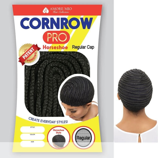 Amore Mio Cornrow Pro Horseshoe Regular Cap - Beauty Empire