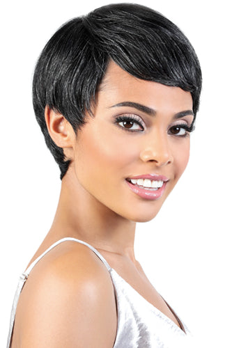 Motown Tress Silver Collection 100% Human Hair Wig - SH.Pixie - Beauty Empire