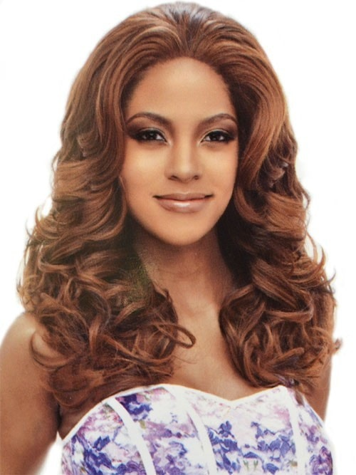 Vanessa Honey-2 Brazilian Human Hair Blend Lace Front Wig Denon - Beauty EmpireVanessa - 1