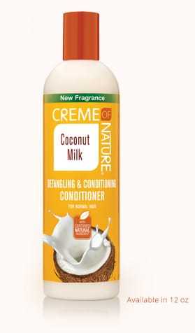 Creme Of Nature Coconut Milk Detangling & Conditioning Shampoo (12 Oz) - Beauty Empire