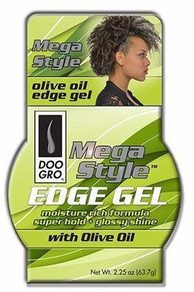 Doo Gro Mega Style Edge Gel with Argan Oil (2.25 oz) - Beauty Empire