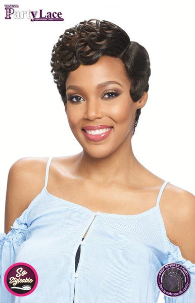 Vanessa Party Lace Deep Reverse J-Part Synthetic Wig - DRJ Jesli