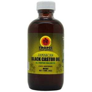 Tropic Isle Living Jamaican Black Castor Oil (8 oz) - Beauty Empire