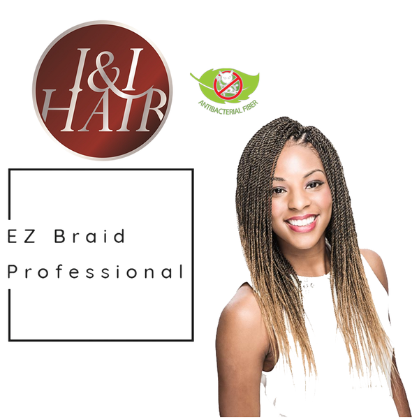 I & I Oh! Yes Hair Professional EZ Braiding Hair - Beauty Empire