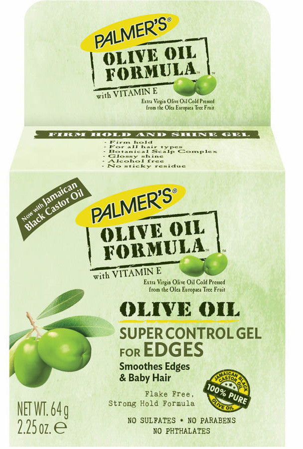 Palmers Olive Oil Formula Super Control Gel For Edges (2.25 oz) - Beauty Empire