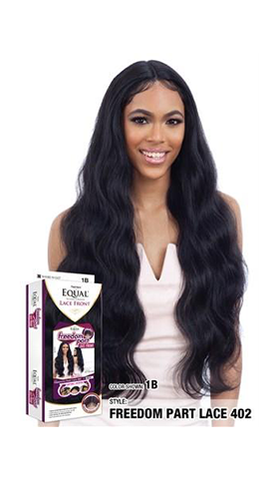 Freetress Equal Freedom Part Lace Front wig - Free Part Lace 402