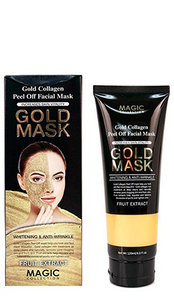 Magic Collection Gold Collagen Peel Off Facial Mask - 4oz