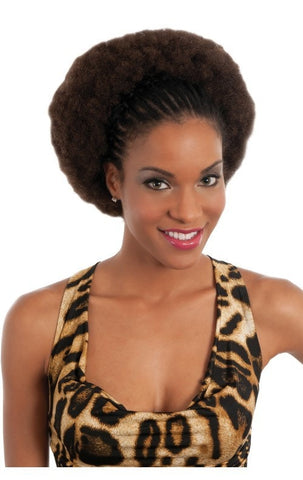 Vivica Fox Human Hair Kinky Bulk 22 Inches - Beauty EmpireVivica A Fox - 1