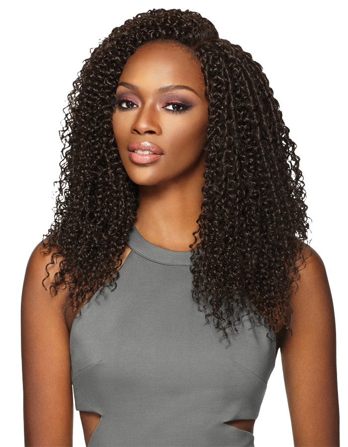 "Outre Purple Pack Brazilian Boutique - Virgin Curly 18"",18"",18"""