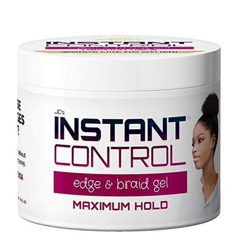 JC's Instant Control Edge & Braid Gel - Maximum Hold