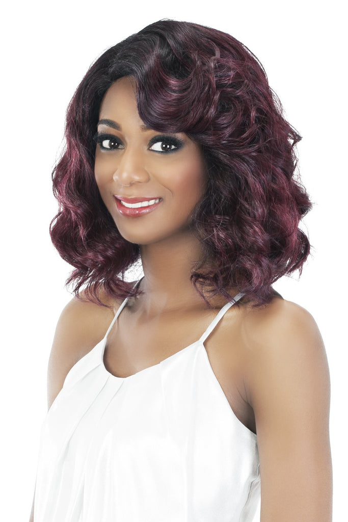 "Vivica A. Fox Natural ""Baby Hair"" Swiss Lace Front Wig - Jamilla"