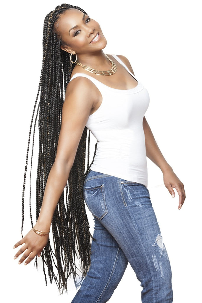 Vivica A. Fox Jumbo 100% Kanekalon Braid - Beauty EmpireVivica A Fox - 1