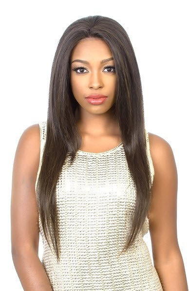 Diana Bohemian Pure Natural Human Blend Lace Wig - HBW Brazilian Girl 30 Inches - Beauty Empire