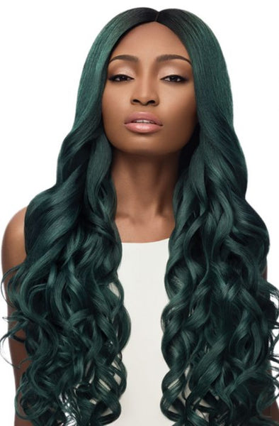 Outre Synthetic Swiss I-Part Lace Front Wig - Serena 32 Inches - Beauty Empire