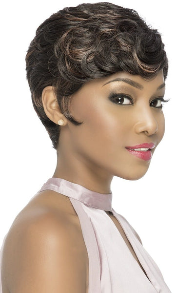 Vivica A. Fox Pure Stretch Cap Synthetic Wig - Logan - Beauty Empire