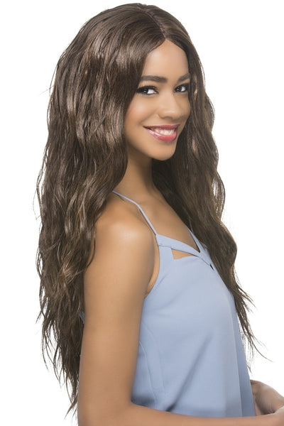 "Vivica A. Fox Natural ""Baby Hair"" Swiss Lace Front Wig - Maeve"