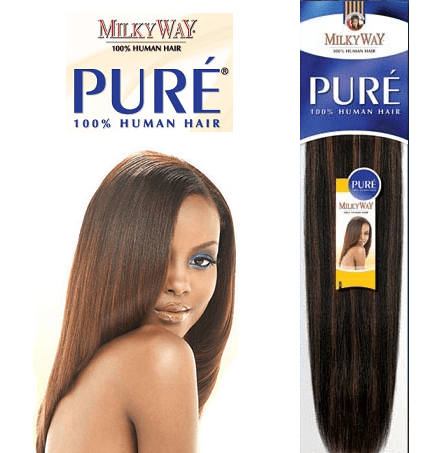 Milky Way Pure Yaky Remy Extensions - Beauty EmpireShake N Go - 1