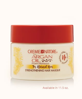 Creme Of Nature Strengthening Milk Masque (11.5 Oz) - Beauty Empire