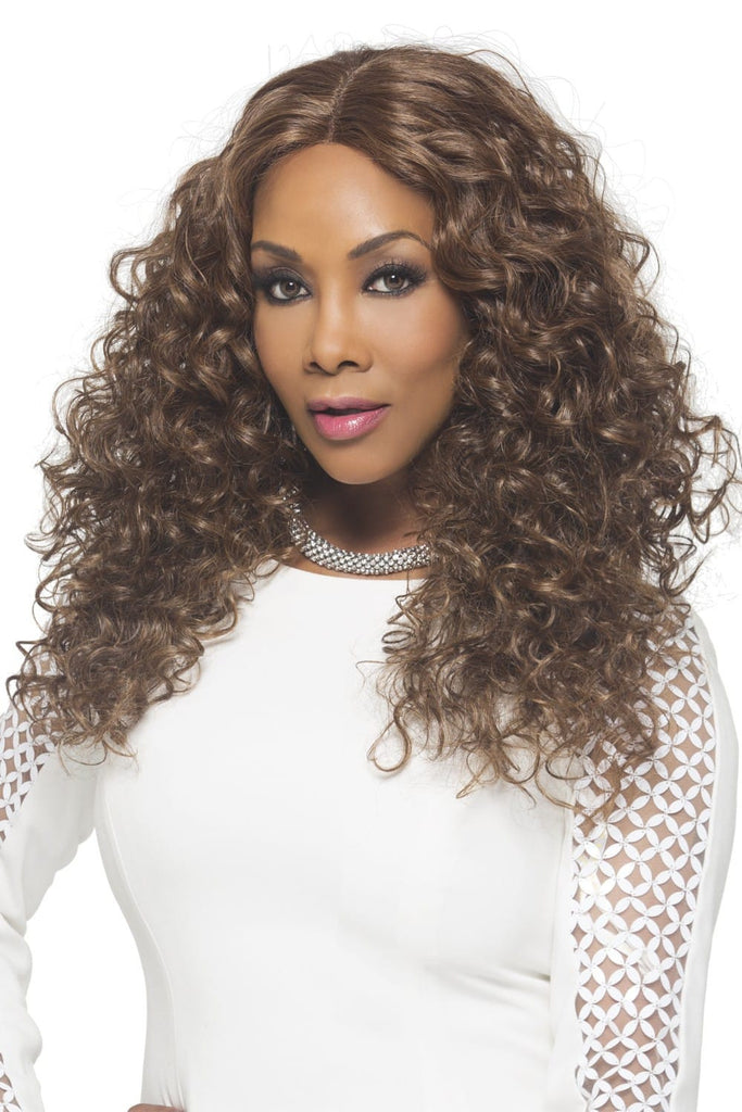 "Vivica A. Fox Natural ""Baby Hair"" Swiss Lace Front Wig - Odette"