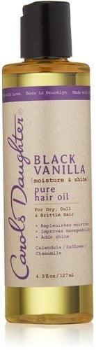 Carols Daughter Black Vanilla Pure Hair Oil (4.3 oz) - Beauty Empire