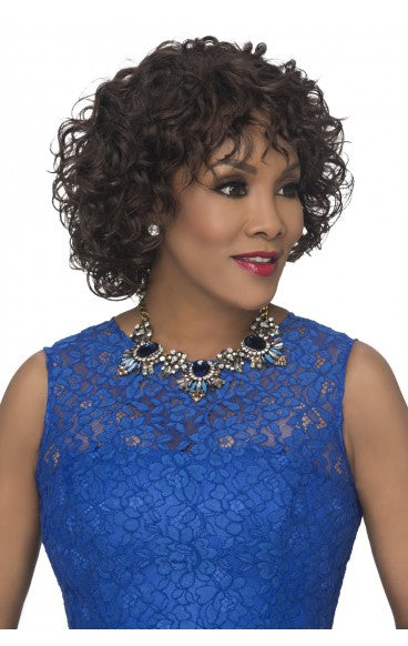 Vivica A. Fox Pure Stretch Cap Synthetic Wig - Oprah 5