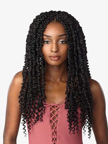 Sensationnel Lulutress Crochet Braid - Passion Twist 18 Inches