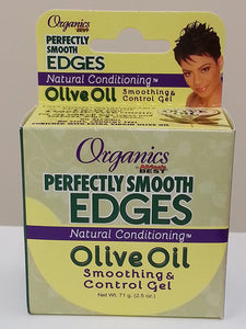 Organics Perfectly Smooth Edges Natural Conditioning Olive Oil Smoothing & Control Gel (2.5 oz) - Beauty Empire