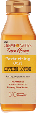 Creme Of Nature Pure Honey Texturizing Curl Setting Lotion - 12oz - Beauty Empire