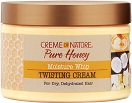 Creme Of Nature Pure Honey Moisture Whip Twisting Creme - 11.5oz - Beauty Empire