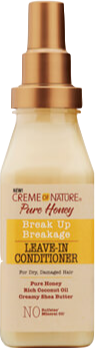 Creme Of Nature Pure Honey Break Up Breakage Leave-In Conditioner - 8oz - Beauty Empire