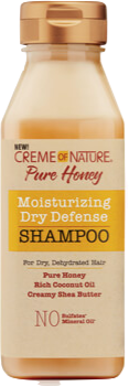 Creme Of Nature Pure Honey Moisturizing Dry Defense Shampoo 12 oz - Beauty Empire