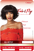 Outre Fab & Fly 100% Unprocessed Human Hair Wig - Betsy - Beauty Empire