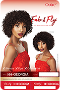 Outre Fab & Fly 100% Unprocessed Human Hair Wig - Georgia
