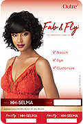 Outre Fab & Fly 100% Unprocessed Human Hair Wig - Selma - Beauty Empire