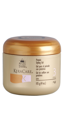 KeraCare Protein Styling Gel  (4 oz) - Beauty Empire