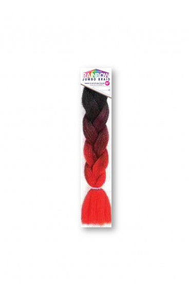 Vivica A. Fox Rainbow Jumbo Braid 64 Inches - Beauty Empire