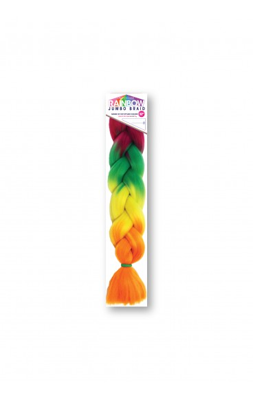 Vivica A. Fox Rainbow Jumbo Braid 64 Inches