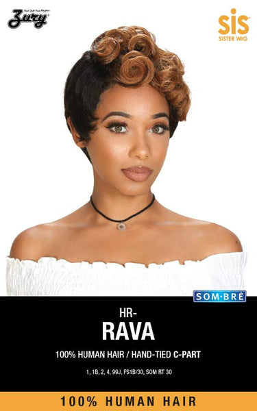 Zury Sis Human Revive 100% Human Hair Wig - HR Rava - Beauty Empire