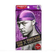 Red By Kiss Bow Wow Power Wave Velvet Luxe Durag - HDUPPV02 Purple
